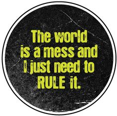 Doctor Horrible Button: The world is a mess... on Etsy, $2.00