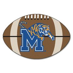 Memphis Tigers NCAA Football Floor Mat (22x35)