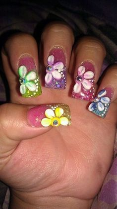 Colorful - Nail Art Gallery nailartgallery.nailsmag.com by nailsmag.com