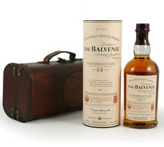 Scotch fans will love this Balvenie 14 Year Old Caribbean Cask single malt whisky, in a beautiful wooden case £69.99