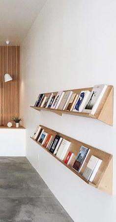 nice Clean, simple DIY minimalist bookshelf display... by http://www.99-homedecorpictures.club/minimalist-decor/clean-simple-diy-minimalist-bookshelf-display/ More