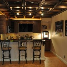 Dropped Ceiling Design Ideas, Pictures, Remodel, and Decor