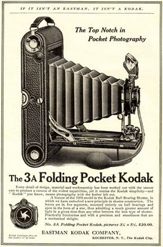 Kodak No 3A Folding Pocket Camera