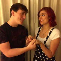 A Startling Duet - Thomas Sanders, Anna Brisbin and Nick Pitera - Playlist Live Orlando 2016
