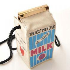$9.22 Cute Milk Box Shape and Canvas Design Women's Crossbody Bag