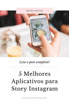 Instagram Blog, Story Instagram, Blog Tips, App Story, Story Inspiration, Marketing Digital, Business Marketing, Apps, Internet