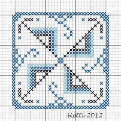 Creative Workshops from Hetti: SAL Delfts Blauwe Tegels,Deel 3 - SAL Delft Blue Tiles, Part 3.