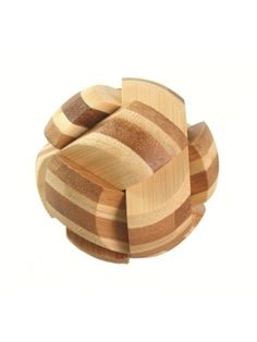 AWD235 BAMBOO BRAINTEASER PUZZLES