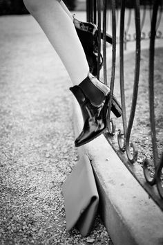 #fashion #shoes REINVENT YOURSELF: Black and White