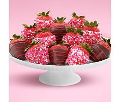 Chocolate covered strawberries are a given for Valentine's Day!
