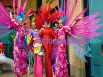 Carnival stilts