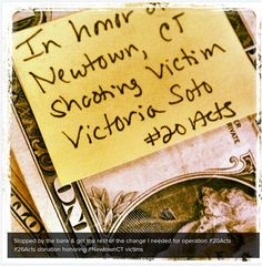 #26acts of kindness: Nebraska woman spreads good will one dollar at a time (Photo: Shauna Groenewold)