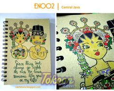 Indonesian - Java - Marriage - Traditional - Notebook Cover
