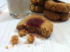 Peanut Butter and Jam Cookies