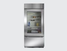 "Sub-Zero 36"" Built-in Bottom-Freezer Refrigerator - modern - refrigerators and freezers - Sub-Zero and Wolf"
