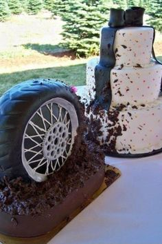 Me and Jerry have agreed to a his and hers wedding cake lol