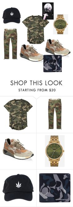 """""""2k21"""" by earlfiy on Polyvore featuring Hollister Co., Diesel, Nixon, Palm Angels, Alexander McQueen, men's fashion and menswear"""
