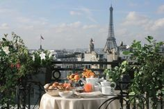 Jjw Hotels Resorts In Paris What An Amazing Place To Have Breakfast The Morning