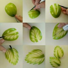 Vegetable Decoration, Food Decoration, Garnishing, Food Garnishes, Deco Fruit, Fruit Buffet, Amazing Food Art, Food Sculpture, Creative Food Art