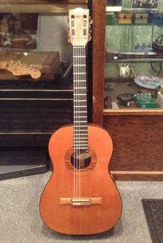 1966 Gibson C-6 Classical nylon string Brazilian rosewood vintage guitar