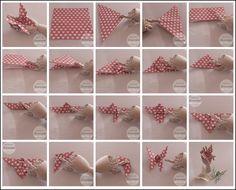 Diy butterfly origami - sommerfugl bretting