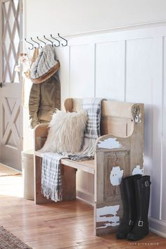 foyer furniture ideas foyer decorating this simple farmhouse entryway is perfectly decorated for winter with large coat hooks rustic 404 best entryway ideas images in 2018 ideas