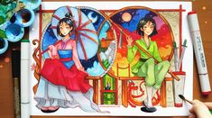 +Mulan - Who I Really Am+ by larienne on DeviantArt