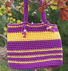 Color Bright Mini-Tote pattern by Kathy North