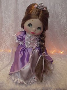 OOAK Mattel My Child Doll  ~ Rapunzel by jesska80, via Flickr