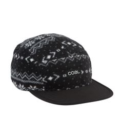 Coal The Canyon fleece 5 panel hat nordic print