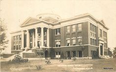 TONKAWA OKLAHOMA Wilkin Hall O'Haver RPPC postcard 10127 in Collectibles, Postcards, US States, Cities & Towns | eBay