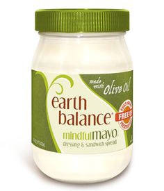 Earth Balance Mayo made with Olive Oil (vegan, gluten-dairy-soy-egg-free)