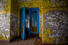 abandoned Tuberculosis Ward in Athens, Ohio. July 2008.
