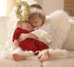 Cute Christmas angels