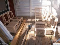 Bild nr 10 - Platsbyggd soffa på altanen av Pysselvix