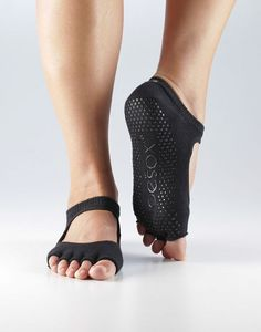 ToeSox Half Toe Bella Grip Socks