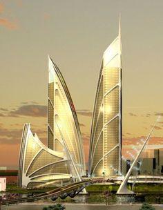 Palm Jebel Ali, just off the coast of Dubai designed by Royal Haskoning.