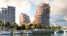 Waves at Bayside in Toronto - e-architect