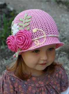 Chapeau Bébé, Chapeau Crochet, Crochet Bébé, Bonnet Bébé Crochet, Tricot Et 512bf1f9d4a