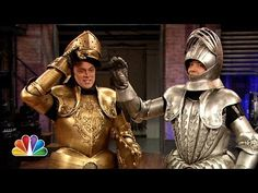 ▶ Late Knights Race with Johnny Knoxville - YouTube