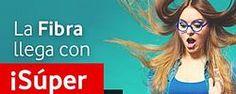 ¡Ahora, con Vodafone, la Fibra llega con SÚPER PRECIO!