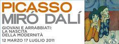 Picasso, Miró, Dalí Giovani e arrabbiati. La nascita della modernità Data: 12 marzo 2011 - 17 luglio 2011 - Piano Nobile