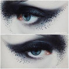 """좋아요 3,947개, 댓글 24개 - Instagram의 IDA EKMAN(@ida_elina)님: """"Sssmokeyyy  @makeupstore Pollution shadow & Black cakeliner / @houseoflashes Pixie Luxe lashes …"""""""