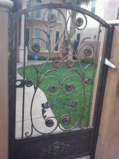 Front yard door