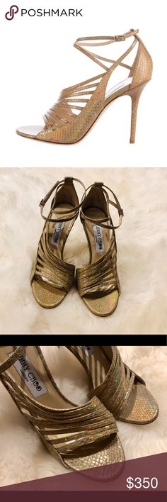 45dae2628f JIMMY CHOO Florry Holographic Sandals. New! Pretty This is a beautiful  pair! Bought