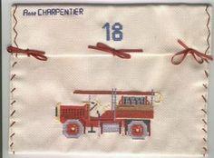 pompier thé,enveloppe dos