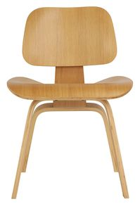 Natural Replica Eames Dining Chair Wood  sc 1 st  Pinterest & Charles Eames Molded Plywood Lounge Chair Wood ( LCW ) replica ...