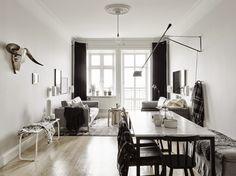Total look #black&white. #Deco #Inspiration #Ideas