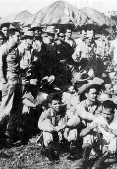 Brigade 2506 - CIA backed Cuban exiles who attempted to overthrow the Castro regime by invading the Bay of Pigs, 1961