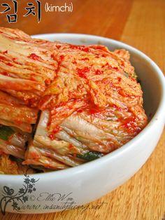 Kimchi recipe - traditional way